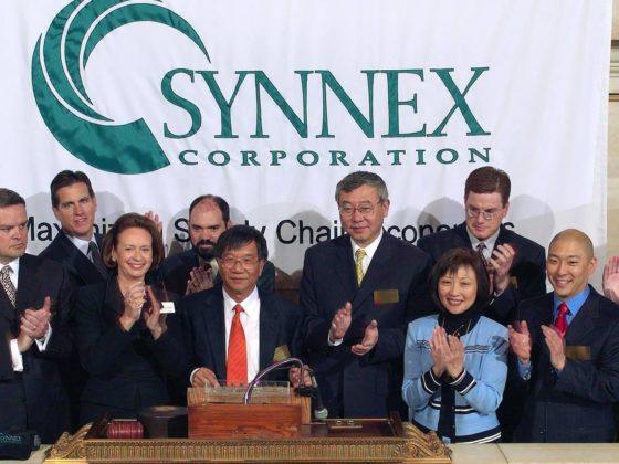 SYNNEX celebrates listing on the New York Stock Exchange in 2003