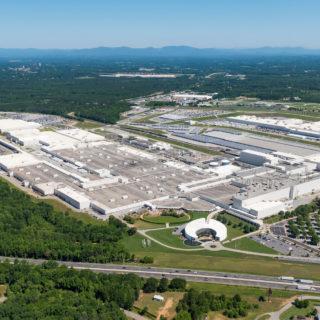 BMW plant in Spartanburg
