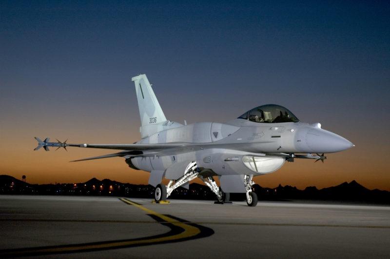 Lockheed Martin F-16 Greenville