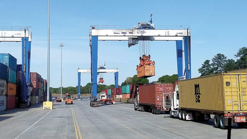 Greer inland port