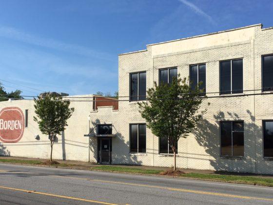 Borden building Greenville