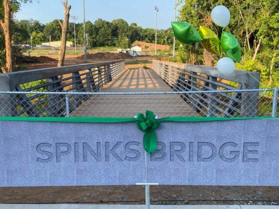 Unity Park Spinks bridge